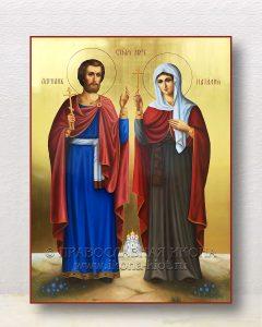 Икона «Адриан и Наталия, святые мученики»