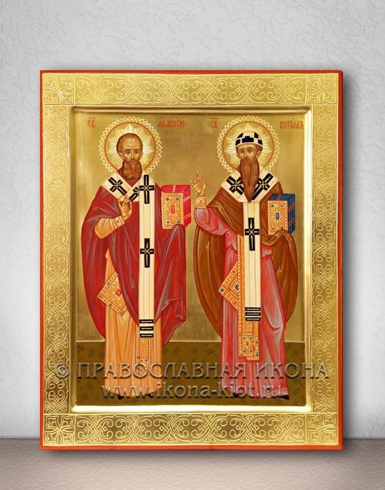 Икона «Афанасий и Кирилл, святители»