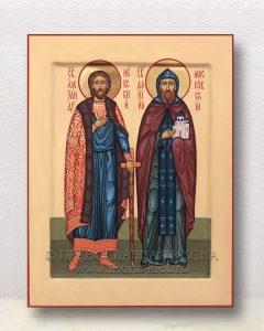 Икона «Александр Невский и Даниил Московский»