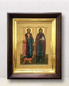 Икона «Александр Невский и Даниил Московский» (образец №2)