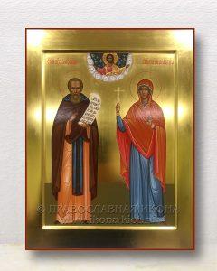 Икона «Александр и Лариса»
