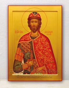 Икона «Александр Невский, великий князь»