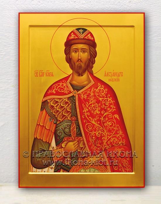 Икона «Александр Невский, великий князь» (образец №1)
