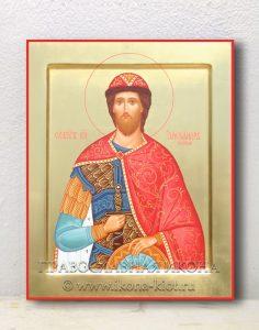 Икона «Александр Невский, великий князь» (образец №13)