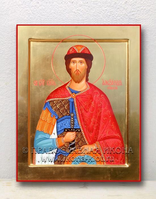 Икона «Александр Невский, великий князь» (образец №14)