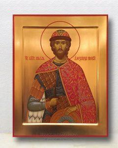 Икона «Александр Невский, великий князь» (образец №17)