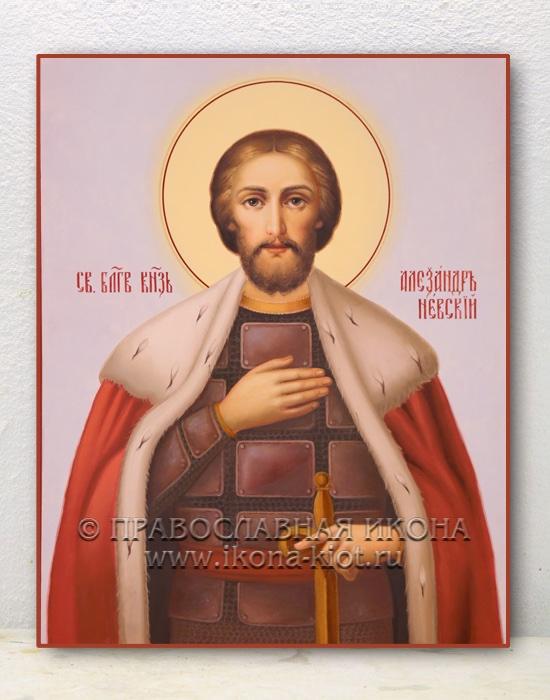 Икона «Александр Невский, великий князь» (образец №4)