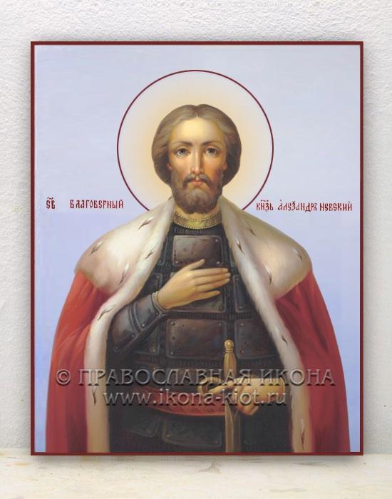 Икона «Александр Невский, великий князь» (образец №20)