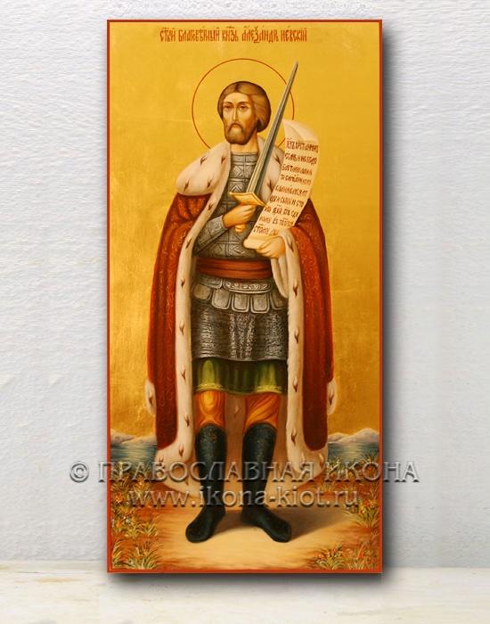 Икона «Александр Невский, великий князь» (образец №8)
