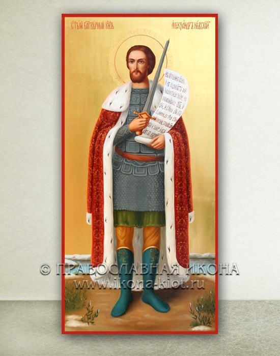Икона «Александр Невский, великий князь» (образец №21)