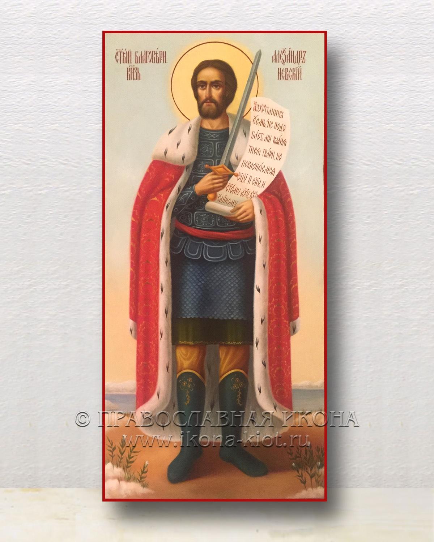 Икона «Александр Невский, великий князь» (образец №22)