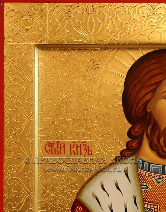 Икона «Александр Невский, великий князь» (образец №24)