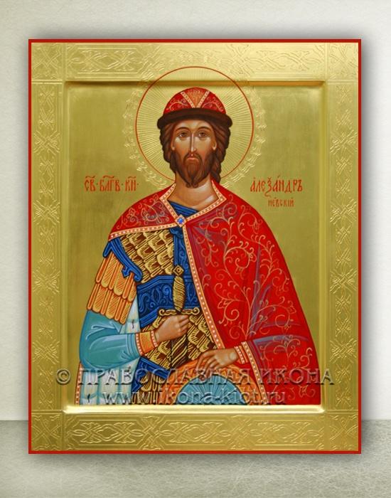 Икона «Александр Невский, великий князь» (образец №25)