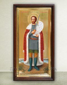 Икона «Александр Невский, великий князь» (образец №27)