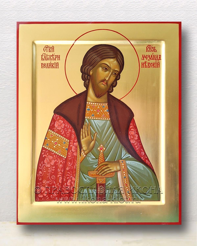 Икона «Александр Невский, великий князь» (образец №2)