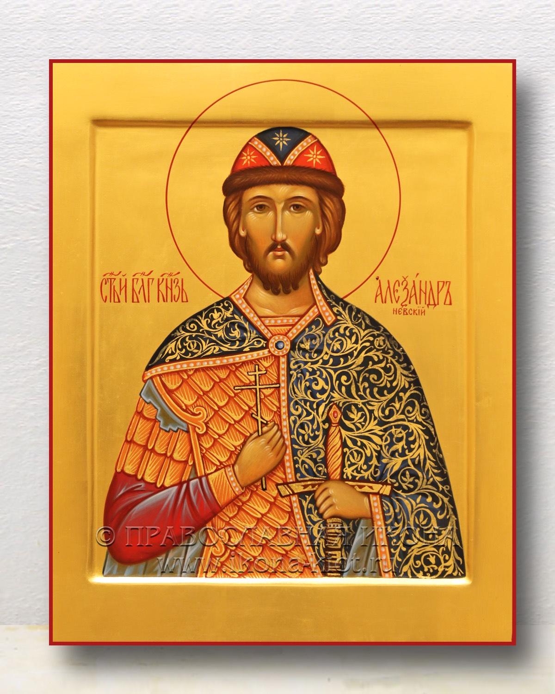Икона «Александр Невский, великий князь» (образец №29)