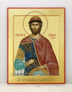 Икона «Александр Невский, великий князь» (образец №5)