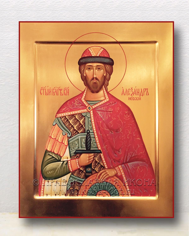 Икона «Александр Невский, великий князь» (образец №30)