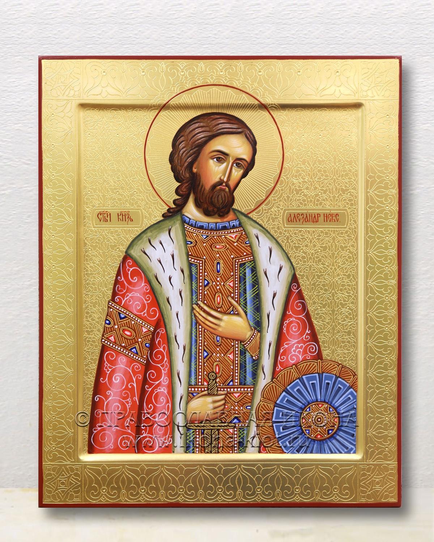 Икона «Александр Невский, великий князь» (образец №31)