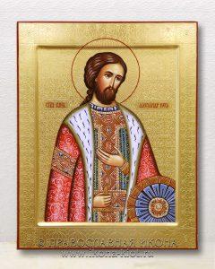 Икона «Александр Невский, великий князь» (образец №32)