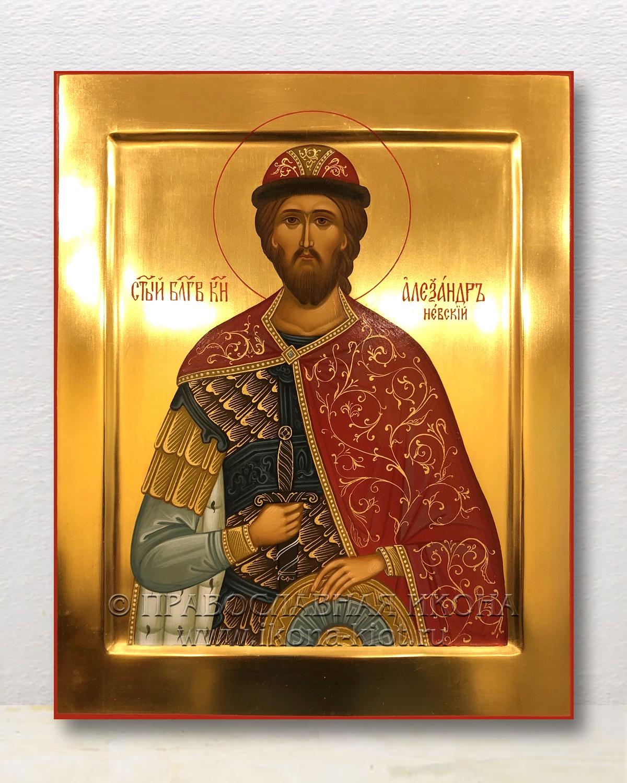Икона «Александр Невский, великий князь» (образец №33)