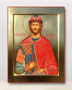 Икона «Александр Невский, великий князь» (образец №34)