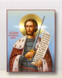 Икона «Александр Невский, великий князь» (образец №36)