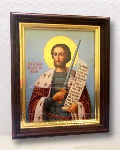 Икона «Александр Невский, великий князь» (образец №37)