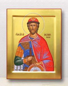 Икона «Александр Невский, великий князь» (образец №38)