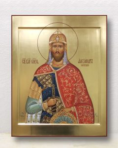 Икона «Александр Невский, великий князь» (образец №39)