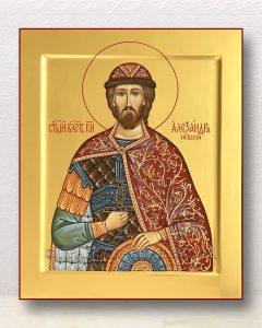 Икона «Александр Невский, великий князь» (образец №40)