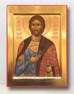 Икона «Александр Невский, великий князь» (образец №9)