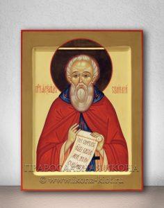 Икона «Александр Свирский» (образец №2)
