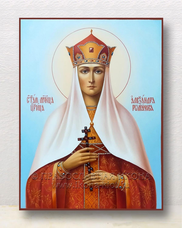 Икона «Александра Романова, страстотерпица» (образец №2)