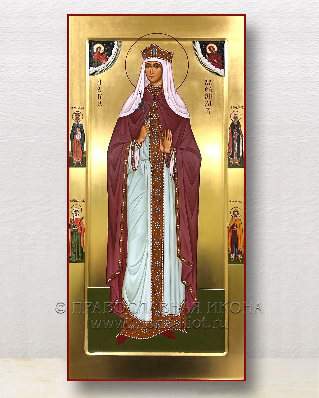Икона «Александра Романова, страстотерпица» (образец №3)