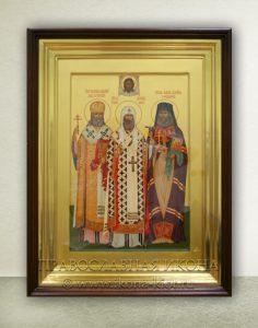 Икона «Алексий, Лука, Иоанн, святители»