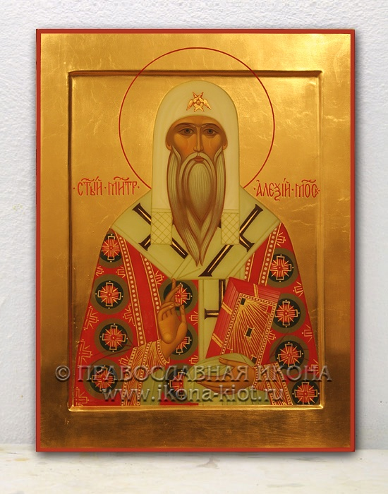 Икона «Алексий Митрополит Московский» (образец №1)