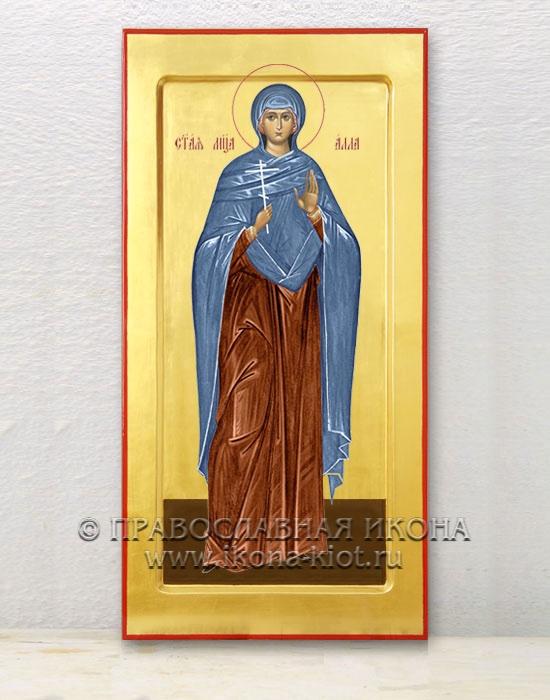 Икона «Алла Готфская, мученица» (образец №1)