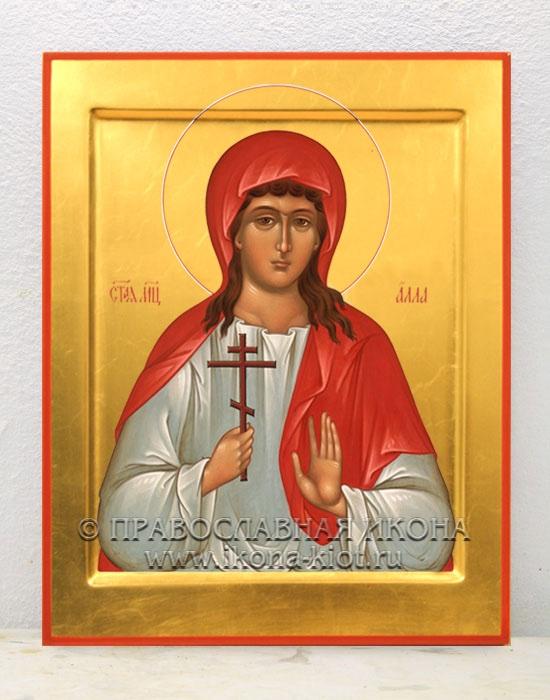 Икона «Алла Готфская, мученица» (образец №2)