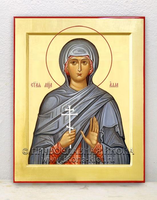Икона «Алла Готфская, мученица» (образец №3)