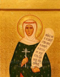 Икона «Анастасия Римляныня» (образец №2)
