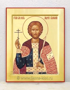 Икона «Андрей Боголюбский, князь» (образец №1)