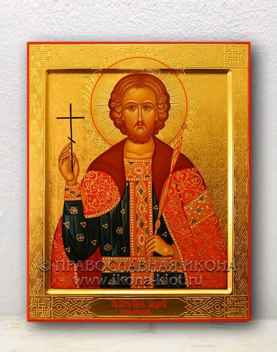 Икона «Андрей Боголюбский, князь» (образец №2)