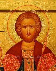 Икона «Андрей Боголюбский, князь» (образец №3)
