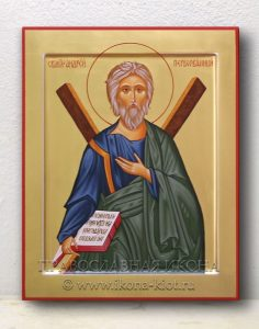 Икона «Андрей Первозванный, апостол» (образец №10)