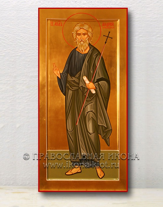 Икона «Андрей Первозванный, апостол» (образец №12)
