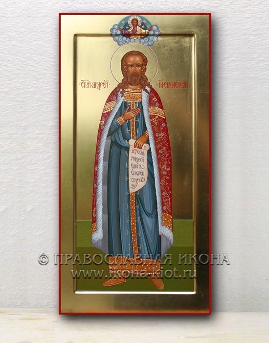 Икона «Андрей Смоленский, благоверный князь» (образец №2)