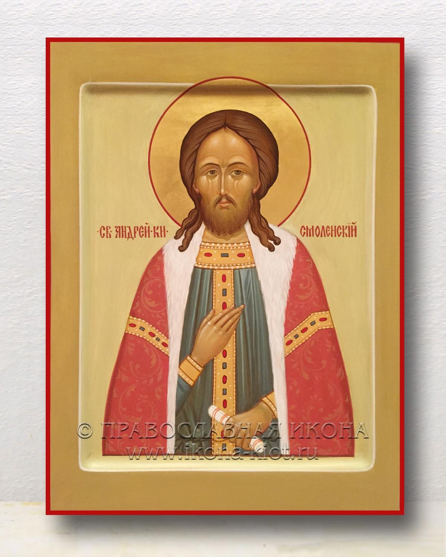 Икона «Андрей Смоленский, благоверный князь» (образец №1)