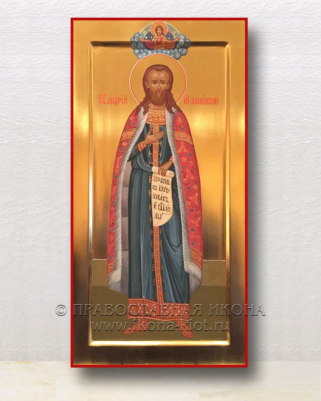 Икона «Андрей Смоленский, благоверный князь» (образец №3)
