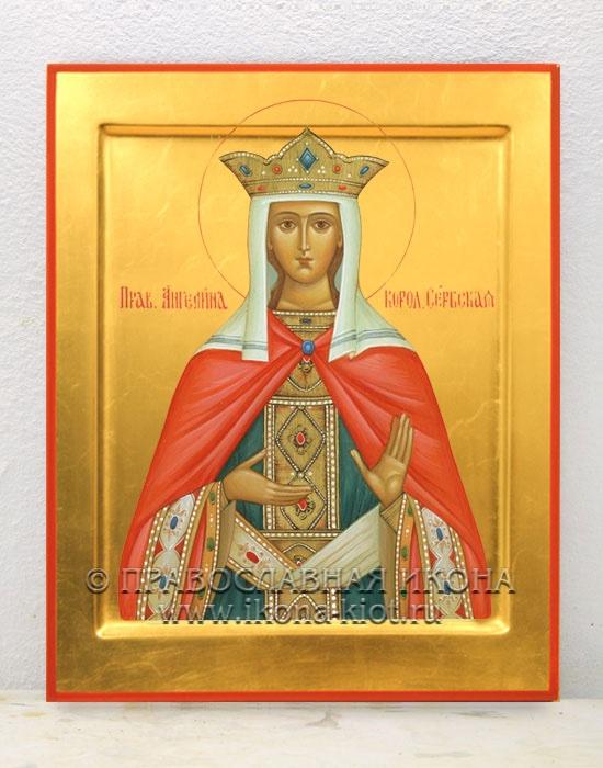 Икона «Ангелина Сербская» (образец №1)